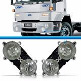 Par Farol Duplo Caminhão Ford Cargo 1722 2422 2428 Diagonal