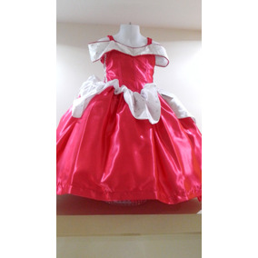 Vestido Princesa Disfraz Aurora-bella Durmiente Envio Gratis