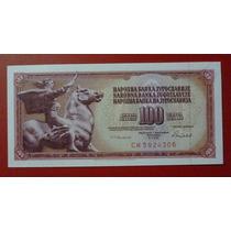 Yugoslavia Billete 100 Dinara Unc 1986