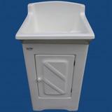 Tanque Lavar Roupas De Fibra 12 Litros Com Gabinete Difibra