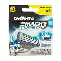 Promoção Carga Gillette Mach3 Turbo C/6 Produzido E.u.a