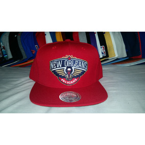 Gorra Snapback Mitchell And Ness New Orleans Pelicans