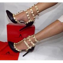 Zapatillas Fina Arthuro-azpeitia Tacon Moda Dama Alto Comodo