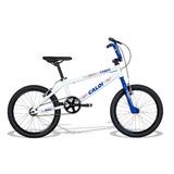 Bicicleta Caloi Cross Aro 20 T10 Branco/azul