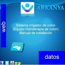 Hidroterapia De Colon (manual De Instalación)