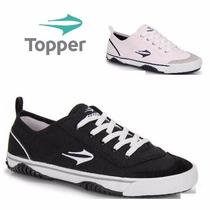 20% Off Tênis Topper New Casual Iii - Preto Ou Branco