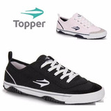 20% Off Tênis Topper New Casual Iii - Preto Ou Branco
