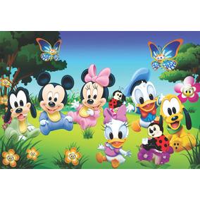 Painel Lona Fosca Baby Disney 2,00x1,40. Displays.