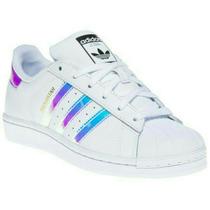 Adidas Superstar Oferta 20% Blancas Con Líneas Tornasoladas