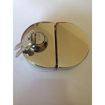 Fechadura De Pressão De Um Lado Só Para Porta De Vidro V/v