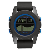 Relógio Masculino Nixon Unit Tide Black Blue