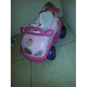 Carro De Disney De Princesa ,con Bateria Para Niña