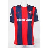 Camiseta San Lorenzo De Almagro Titular 2016 + Estampado