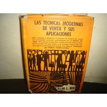 Ténicas Modernas D Venta Y Sus Aplicaciones-allan L. Reid