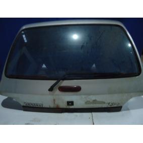 Tampa Do Porta Malas Clio 96/98 Com Vidro Traseiro ( Vigia )