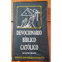 Devocionario Bíblico Católico, Áncora Bíblica,letra Grande