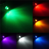 100 Led Alta Luminosidad 5mm Bombin Straw Hat Todos Colores