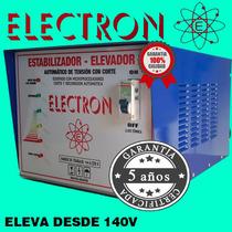 Elevador De Tension 10kw Automatico 140 Real. S Fabricantes.