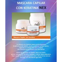 Mascara Capilar De Keratina Nex X 500 Gr.