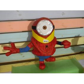 Piñata De Minion Hombre Araña, Disfrazados, Payaso