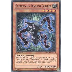 Yu-gi-oh Cronomalia Trabuco Cabrera - Super Raro