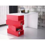Escritorio Mesa Para Pc (cubo) Moderna Minimalista, Oficina