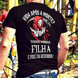 Camiseta Vida Após A Morte - Frete Gratis