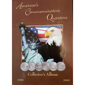 Album Eeuu Con 56 Monedas Quarters Estados