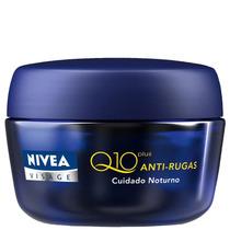 Creme Antirrugas Nivea Visage Q10 Plus Noite 49g