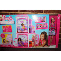 Barbie Casa De Playa Con Muñeca