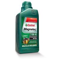 Conjunto 5 Litro Oleo Motor Castrol Magnatec 10w40