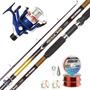 Equipo Pesca Rio Waterdog Caña 2.40m + Reel 602 + Accesorios