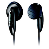 Auricular Philips She1350 Pack X 12 Tipo Boton Negro