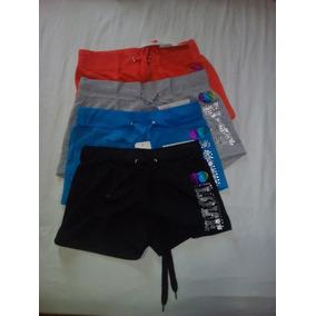 Shorts De Algodon Para Damas