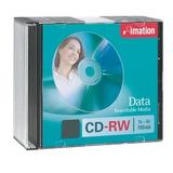 Disco Imation Cd-rw Slim 4x/700mb Nuevo Por Unidad