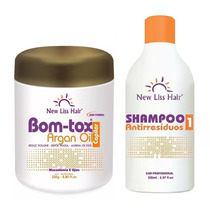 Bo-tox Capilar Sem Formol 250g New Liss Hair + Shampoo 300ml