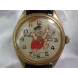 Relógio Fred Flintstones Hanna Barbera 1972 Relogiodovovô;