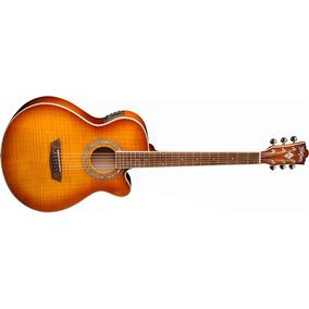 Washburn Guitarra Electro Acustica Ice Tea Burst Mod. Ea15