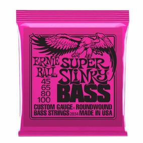 Ernie Ball 2834 Cuerdas Bajo Electrico 45-100
