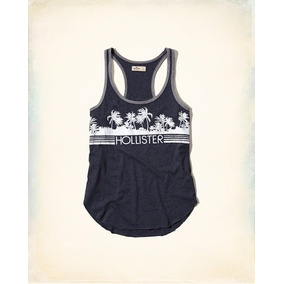 Hollister Racerback Graphic Jersey Thank