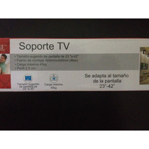 Base Soporte Para Tv 4home De 23 A 42 Pulgadas, Oferta!