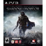 Shadow Of Mordor Ps3 | Digital Español Oferta Lider |