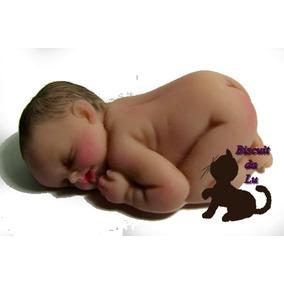 Molde De Silicone Bebe 5cm Bruços - Melhor Preço Do Ml