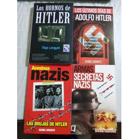 Libros Paquete De 4 Adolfo Hitler