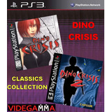 Dino Crisis 1 Y 2 Dual Pack Clasicos Ps1 - Playstation 3