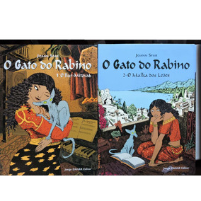 O Gato Do Rabino Vol. 1, 2 Ed. Jorge Zahar 100 Pgs. Novo