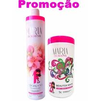 Botox White Maria Escandalosa + Shampoo Anti Resíduo 1 Litro