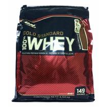 Proteina Gold Standard 100% Whey 10 Lb Sabor Chocolate