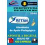 Apostila Digital Pref Betim Mg Atend Apoio Pedagogico 2016
