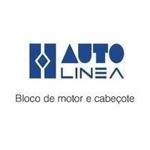 Par Cabeçote Autolinea+valvulas+junta Motor Fusca Vw1600 85/